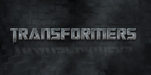 Transformers Text Effect