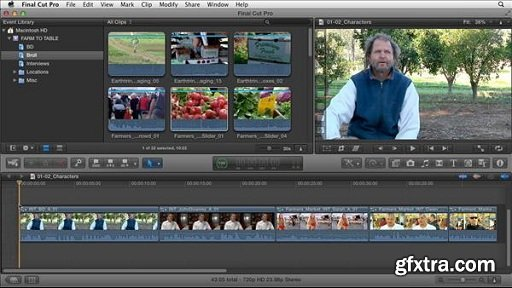 Documentary Editing with Final Cut Pro X