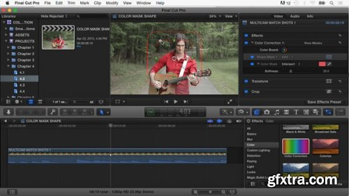 Final Cut Pro X Guru: Color Correction (Updated 11 August 2016)