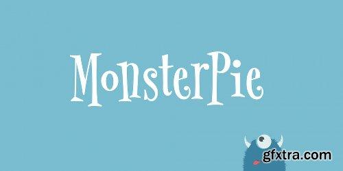 MonsterPie Font