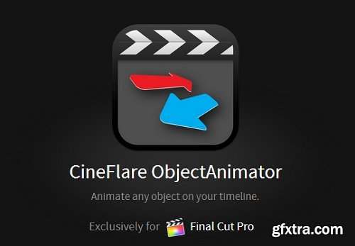 CineFlare ObjectAnimator for Final Cut Pro X (Mac OS X)