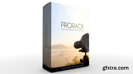 Pixel Film Studios - ProRack: Professional Text Focus Effects for Final Cut Pro X (macOS)