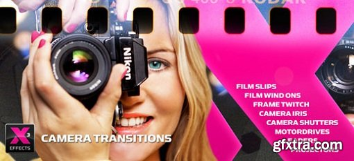 XEffects Camera Transitions 1.0.1 for Final Cut Pro X macOS