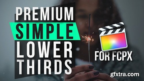 PremiumVFX - Simple Lower Thirds 1.0.2 for Final Cut Pro X macOS