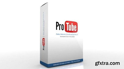Pixel Film Studios - ProTube: Outro Plug-in for Final Cut Pro X macOS