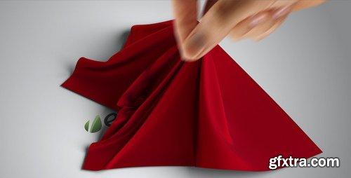 Videohive Silk Shawl Logo Reveal 841303