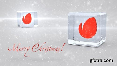 Videohive - Christmas Glassy Dices - 13556332