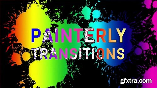 Painterly Transitions V1 for Final Cut Pro X macOS