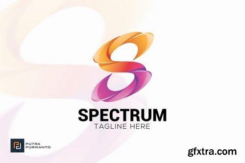 Spectrum Letter S - Logo Template