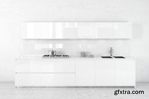 Modern Kitchen 30 3d Model