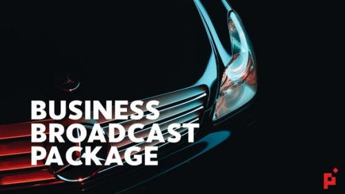 Videohive - Business Broadcast Pack | Final Cut Pro X - 23574959