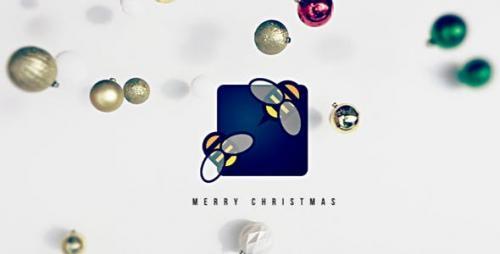 Videohive - Falling Christmas Logo - 13695843