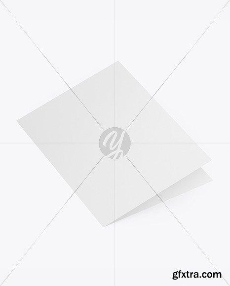 Textured Brochure Mockup 48116
