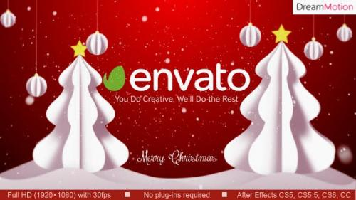 Videohive - Christmas Wish with Logo - 13182468