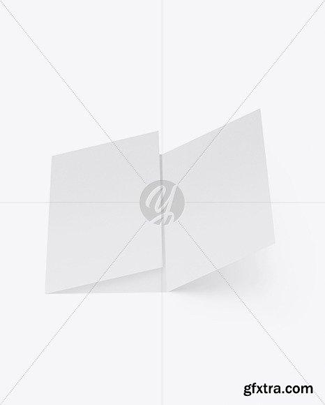 Textured Brochure Mockup 48206
