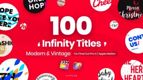 Videohive - Infinity Titles for Final Cut Pro - 24153177