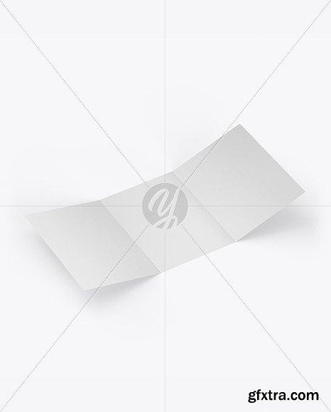 Textured Brochure Mockup 50200