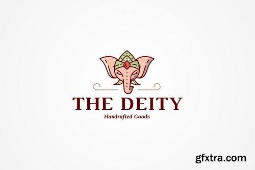 Indian Elephant Logo Template