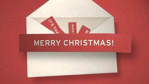 Videohive - Christmas Envelope - 3523491