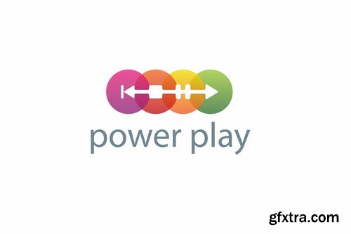Power Play Logo Template