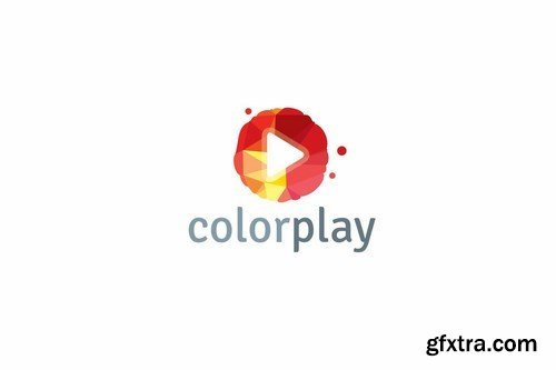 Color Play Logo Template