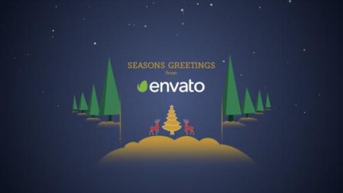 Videohive - Parallax Christmas Greetings - 21009108