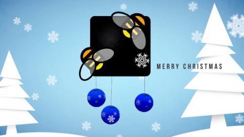 Videohive - Christmas Logo - 3376991