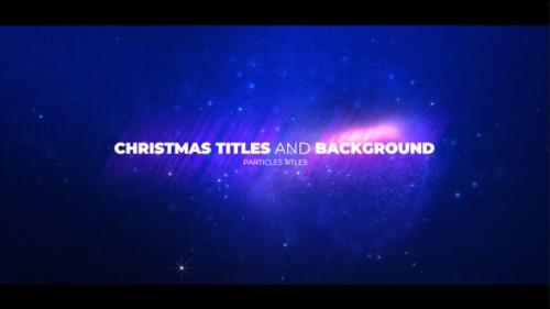 Videohive - Christmas Opener with Particles - 25128458