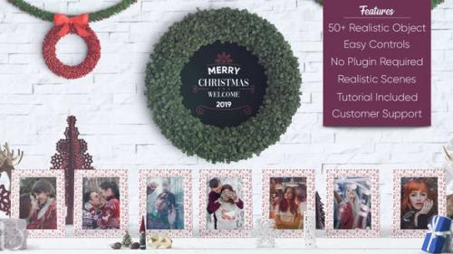 Videohive - Christmas Photo Gallery - 22936104