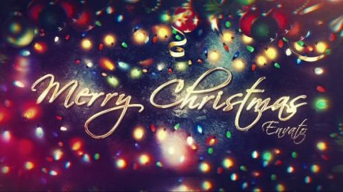 Videohive - Merry Christmas - 21027628