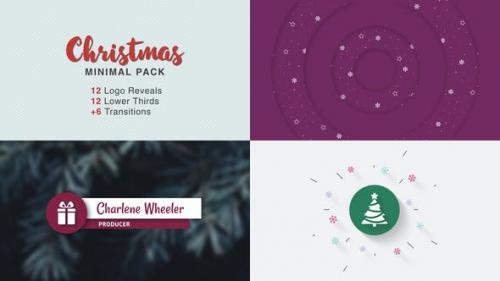 Videohive - Christmas Minimal Pack - 25272421