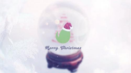 Videohive - Christmas Snow Globe Grettings - 13745742