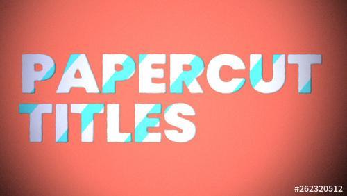 Papercut Title - 262320512