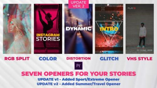 Videohive - Stories Openers Pack - 22426164