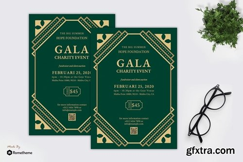 Gala Charity Event - Great Gatsby Party Flyer RB