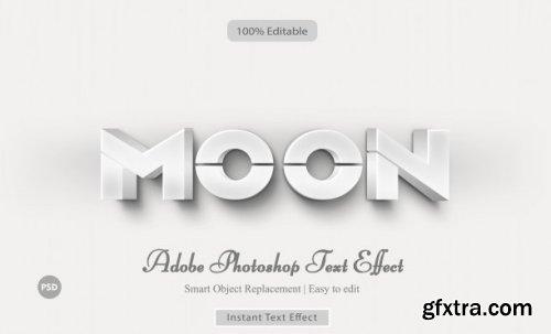Moon text effect