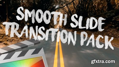 Ryan Nangle - Smooth Slide Transition Pack for Final Cut Pro MacOS