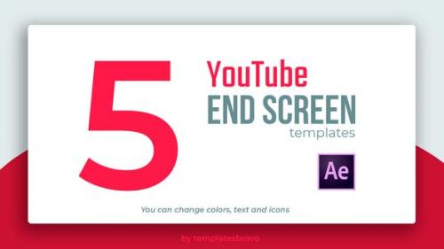 Videohive - YouTube End Screens - 24466065