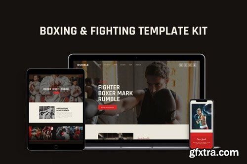 ThemeForest - Rumble v1.0 - Boxing, MMA & Fighting Elementor Template Kit (Update: 15 May 20) - 26604385