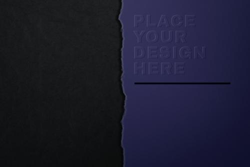 Two textured backgrounds and paper mockup - 580632