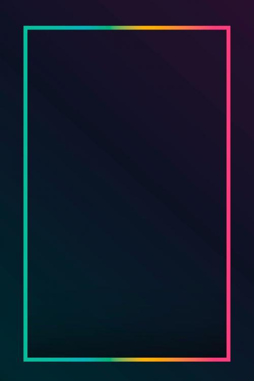 Gradient border black background vector - 1216998