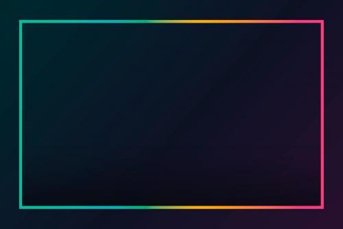 Gradient border black background vector - 1217041