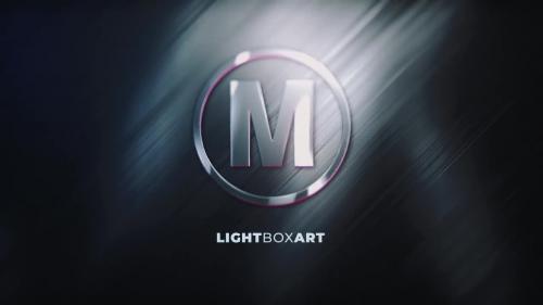MotionArray - Glossy Logo Reveal - Lightboxart - 257588