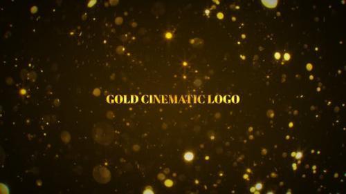 Videohive - Gold Cinematic Logo Mogrt - 26721099