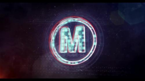 MotionArray - Glitch Neon Logo 2 - 105051