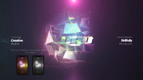 MotionArray - Neon Logo Reveal - 612049