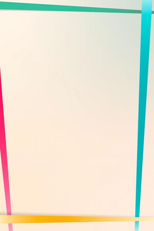 Gradient border background vector - 1217000