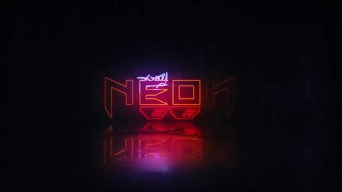MotionArray - Neon Logo Reveal - 135439