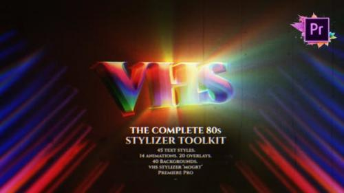 Videohive - The Complete 80s Title Toolkit For Premiere Pro MOGRT - 27243529