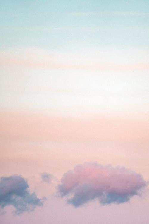 Pastel sky at Loughrigg Fell, the Lake District in England - 935894